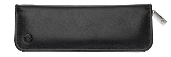 Pelikan Schreibgeräte-Etui aus Nappa-Leder TGX2N für zwei Schreibgeräte Schwarz