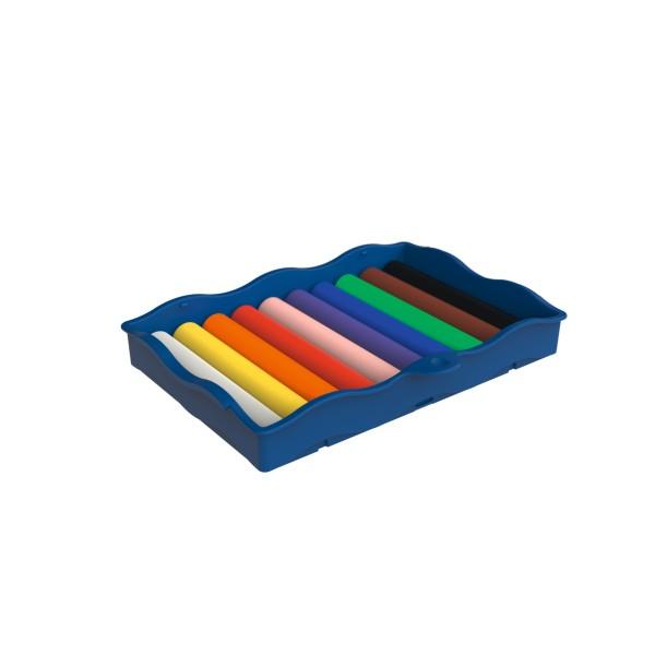 Pelikan Kreativfabrik Creaplast® Kinderknete in Universaletage, 10 Farben
